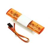 AX - 501C multifunción Ultra brillante LED lámpara para 1/10 1/8 HSP RC Traxxas TAMIYA CC01 4WD Axial SCX10 modelo coche