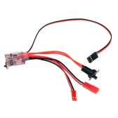 RC ESC 20A Brush Motor Speed Controller w/ Switchable Brake for RC Car Boat Tank