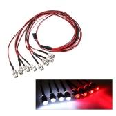 8Pcs Оригинал GoolRC 5мм LED Kit белый и красный цвет света для REVO Slash Jato T-MAXX Traxxas HSP HPI RC автомобилей 4W4R
