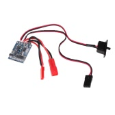 GoolRC 10A Brushed Electronic Speed Controller ESC with Brake for 1/16 1/18 1/24 RC Cars and Boat
