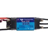 Ulubiony serii Shark 40A 2-6S LiPo Battery Wodoodporna bezszczotkowy elektroniczny regulator prędkości ESC z 5V / 3A Switch Mode SBEC dla łodzi RC Modele