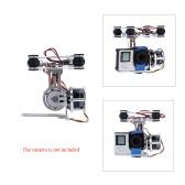 GoolRC 2D Light Weight Silver Brushless Motor Gimbal for DJI Phantom 1 2 3+ Aerial Photography
