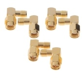 Second Hand 6pcs 5.8G Right Angle SMA Female/Male Antenna Connector for RC Aircraft FPV