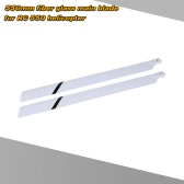 Fiber Glass 550mm Main Blades for  RC 550 Helicopter
