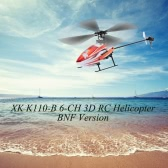 XK Blast K110-B 6CH 3D 6G System Brushless Motor BNF RC Helicopter