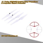 2Pairs 9443 CW/CCW selbstsichernde Schrauben & Propeller Guard Protector für DJI Phantom 3 Version Quadcopter