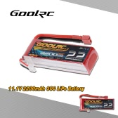 GoolRC 3S 11.1V 2200mAh 30C Li-Po Battery with T Plug for RC 450 Helicopter QAV250 H280 H300 Quadcopter Multicopter