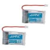 2pcs original JJRC H20 RC Hexacopter Parte H20-04 3.7V 150mAh 30C Li-po batería