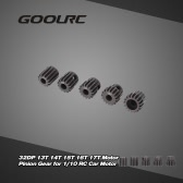 GoolRC 5Pcs 32DP 5mm 13T 14T 15T 16T 17T Motor Pinion Gear Combo Set for 1/10 RC Car Brushed Brushless Motor