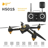 Hubsan X4 H501S H501SS 5.8G Wersja bezszczotkowa FPV Drone RC Quadcopter