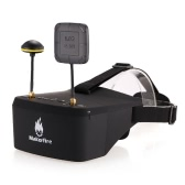 Makerfire EV800D 5.8G 40CH Dual Receiver Double Antenna FPV Goggles