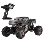 HBX 2098B 1/24 2.4GHz 4WD 4WS Devastator Rock Rastreador de orugas RTR con doble servo Off-Road RC Car