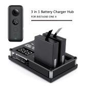Battery Charger Hub 3 in 1 for Insta360 One X Seflie Camera