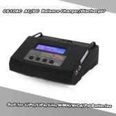 C610AC 10A / 100W AC / DC de doble potencia rápido del cargador del balance / descargador de LiPo / LiFe / lilo / NiMH / NiCd / Pd Baterías