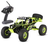 Oryginalne WLtoys 10428 1/10 2.4G 4WD RTR Electric Brushed Crawler RC Car