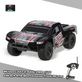 Original WLtoys L323 2.4GHz 2WD 1/10 45km/h Brushed Electric RTR Short-Course Truck RC Car