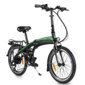 Фафрис 20Ф055 Электрический велосипед 20 дюймов складывая с батареей 7.5АХ 33- диапазоном 35км
