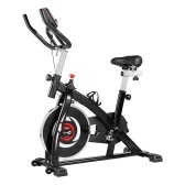 YS-S05 Indoor Cycling Stationary Exercise Bike with Resistance LCD Display