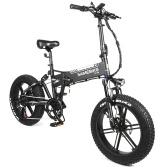 Samebike XWXL09 20-дюймовый складной электрический велосипед