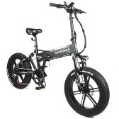 Samebike XWXL09 Bicicleta eléctrica plegable de 20 pulgadas
