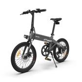 HIMO C20 20 polegadas Folding 80KM Range Power Assist Bicicleta elétrica Moped E-Bike 10AH