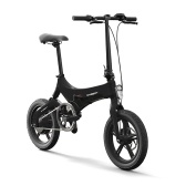 Onebot S6 16 Inch Folding Electric Bicycle Power Assist Moped Electric Bike E-Bike   250W Motor and Dual Disc Brakes