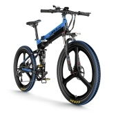 LANKELEISI XT750 ELITE Edition 26 Inch Folding  Electric Bike