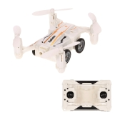Flytec SBEGO 132 2.4G 4CH Air-Boden Fliegen RC Auto Mini Drohne Headless Modus Eintasten Return Quadcopter