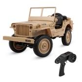 JJR / C Q65 1/10 2.4G 4WD RC Off-Road Militärlastwagen