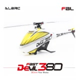 モーターESCサーボジャイロとオリジナルALZRC悪魔380 FASTフライバーレスベルトドライブ6CH 3Dヘリコプタースーパーコンボセット