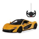 マニュアルオープンドアRTRとオリジナルRASTAR 75110 27MHzの1/14マクラーレンP1 RCスーパースポーツカーシミュレーションモデル