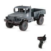 WPL B-14 1/16 2.4GHz 4WD RC Crawler fuoristrada Car Truck militare con faro RTR