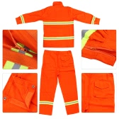 Fighting Clothing Fire Suit Protective Clothes Fireproof Waterproof Heatproof Flame Retardant Clothing