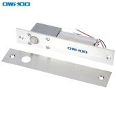 OWSOO elektrische Drop-Riegelschloss Failsafe Sichere NC-Modus 12V für Türöffnungs Access Control System