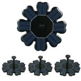 Solar Fountain Flower-shape Solar Panel Kit