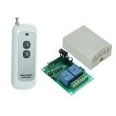 433 MHz DC 12 V 2CH Universal 10A Relais Drahtlose Fernbedienung Schalter