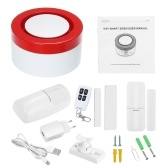 433MHz Wireless WIFI Gateway Host & Siren 2 in 1