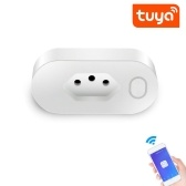 Tuya Brazil Standard SmartSocket WiFi Type N Socket 16A Power monitoring SmartLife APP Control Voice
