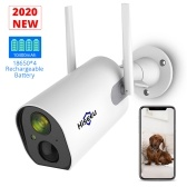 Rechargeable Wireless Security Camera with 10400mAh Battery