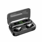ヘッドフォンバッテリーディスプレイイヤホンBTイヤホン5.0ワイヤレスヘッドセットスポーツイヤフォン