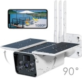 Cámara de seguridad wifi solar al aire libre