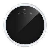 Detector independente de alarme de vazamento de ar nocivo sem fio 433 Alerta de monitoramento de ar combustível de frequência para uso doméstico