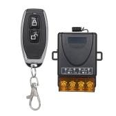 Smart Home 433Mhz AC85-220V 1CH Remoto Sem Fio Interruptor de Relé Receptor Transmissor Controle Remoto Universal Módulo Interruptor e Transmissor RF Controles Remotos 1527