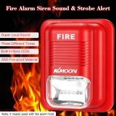KKmoon Feueralarm-Sirene Sound & Strobe Alarm Horn Sicherheit Sicherheitssystem für Home Office Hotel Restaurant