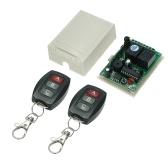 433 MHz DC 12 V 2CH Universal 10A Relé Interruptor de Controle Remoto Sem Fio