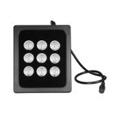 Infravermelho Iluminador 9pcs Matriz IR LEDS