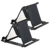 1つのミラー付き折り畳み式ユニバーサルホルダー