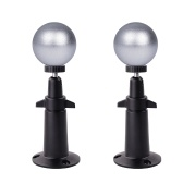 2PCS Magnetic Ball Wall Mount for Arlo HD, Arlo Pro, Arlo Pro 2 Arlo Go Security Camera, Black