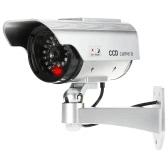 LEDライトシミュレーションダミー弾丸カメラ屋内屋外用ソーラーガーデン防水CCTVセキュリティシステム