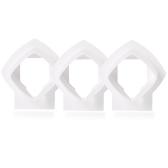 Wandhalterung Halterung für Linksys Velop Tri-Band Whole Home WiFi Mesh System, Weiß 3er Pack